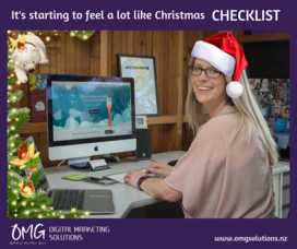 Christmas marketing checklist